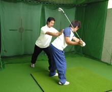 ゴルフキネティックトレーニング